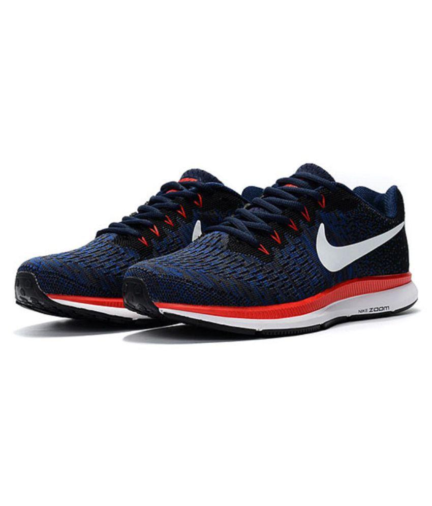 043ef35078f4a6 Nike Air Zoom Pegasus 33 Knite 2018 Blue Running Shoes - Buy Nike ...