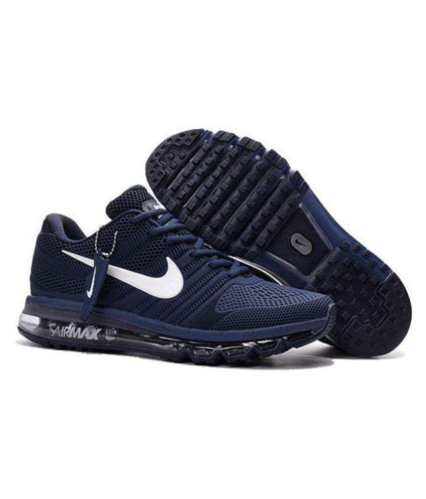 Nike Nike Airmax 2018 Navy blue Navy Casual Shoes - Buy Nike Nike Airmax  2018 Navy blue Navy Casual Shoes Online at Best Prices in India on Snapdeal 8f337229ef