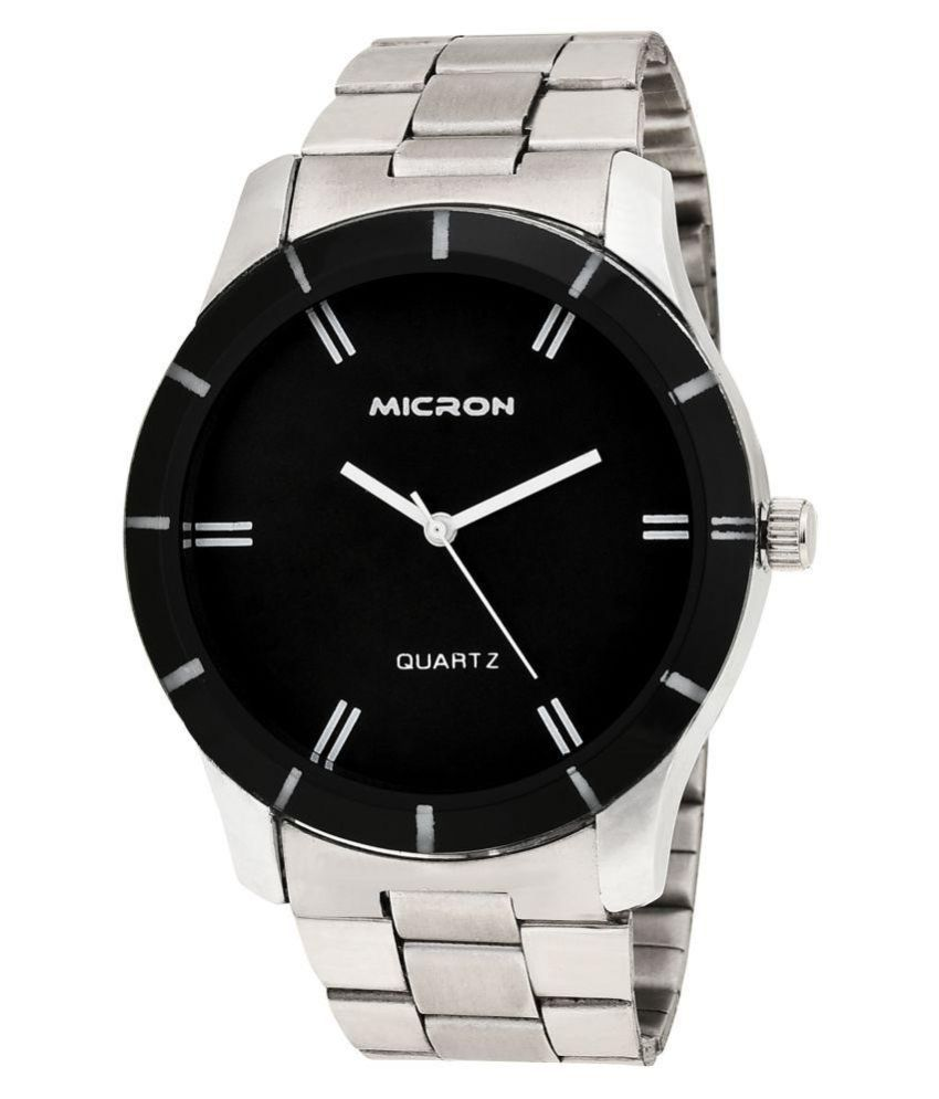 c8ebfe5da Micron 25215364MI Metal Analog Men s Watch Micron 25215364MI Metal Analog  Men s Watch ...