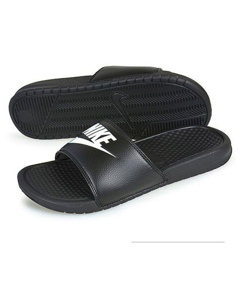 Buy Nike Black Slide Flip flop