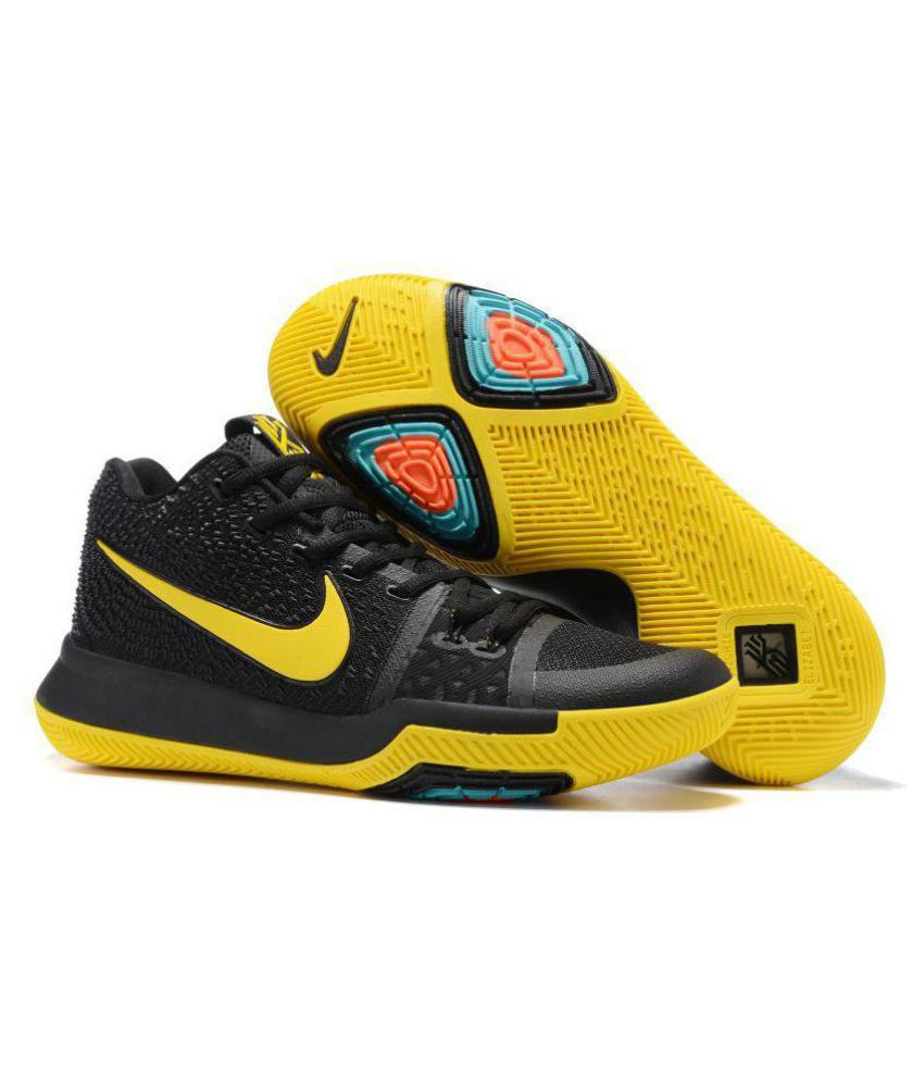 984ae4cfa809 Nike KYRIE IRVING 3 BASKETBALL SHOES Yellow Running Shoes - Buy Nike KYRIE  IRVING 3 BASKETBALL SHOES Yellow Running Shoes Online at Best Prices in  India on ...