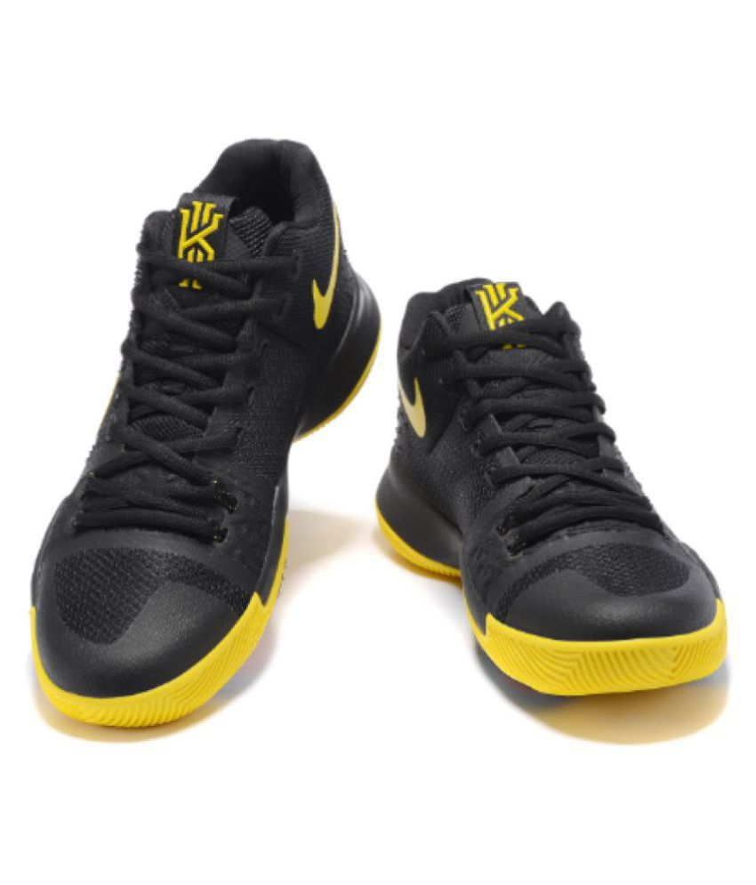 19bfd3a2ba5f Nike KYRIE IRVING 3 BASKETBALL SHOES Yellow Running Shoes - Buy Nike ...
