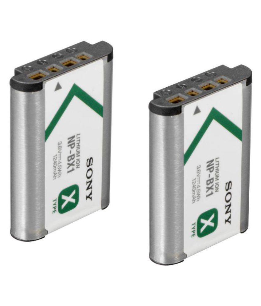 Sony NP BX1 1240 Rechargeable Battery 2