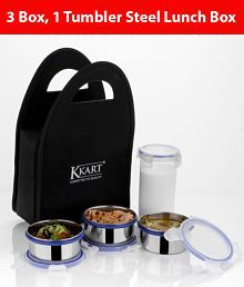 b9b7c77a3a Lunch Boxes: Buy Lunch Boxes Online at Best Prices UpTo 50% OFF on ...