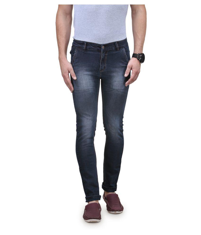 Randier Dark Blue Skinny Jeans