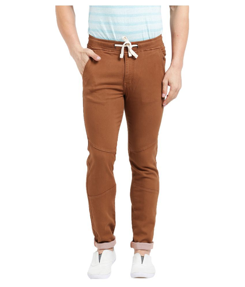Realm Brown Slim Jeans