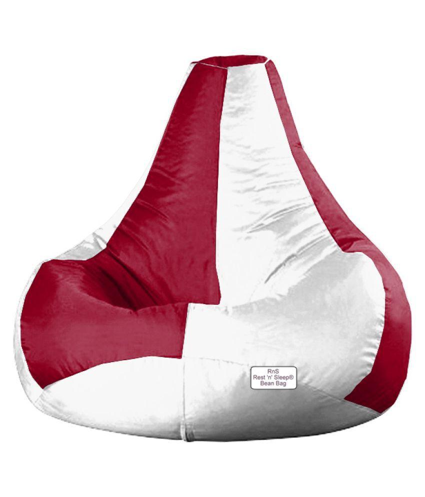 Incredible Restnsleep Xl Bean Bag Filled Filler With Beans Chair Creativecarmelina Interior Chair Design Creativecarmelinacom
