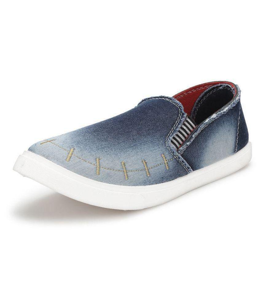 df85d7291a4 Treadfit Sneakers Blue Casual Shoes - Buy Treadfit Sneakers Blue ...