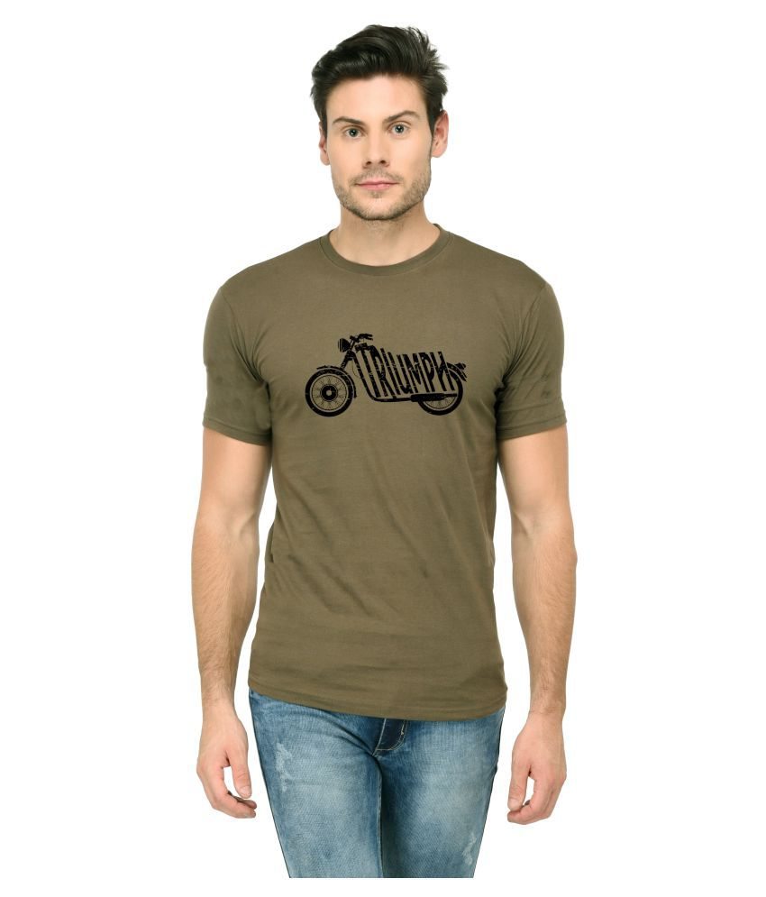 Trends Tower Green Half Sleeve T-Shirt
