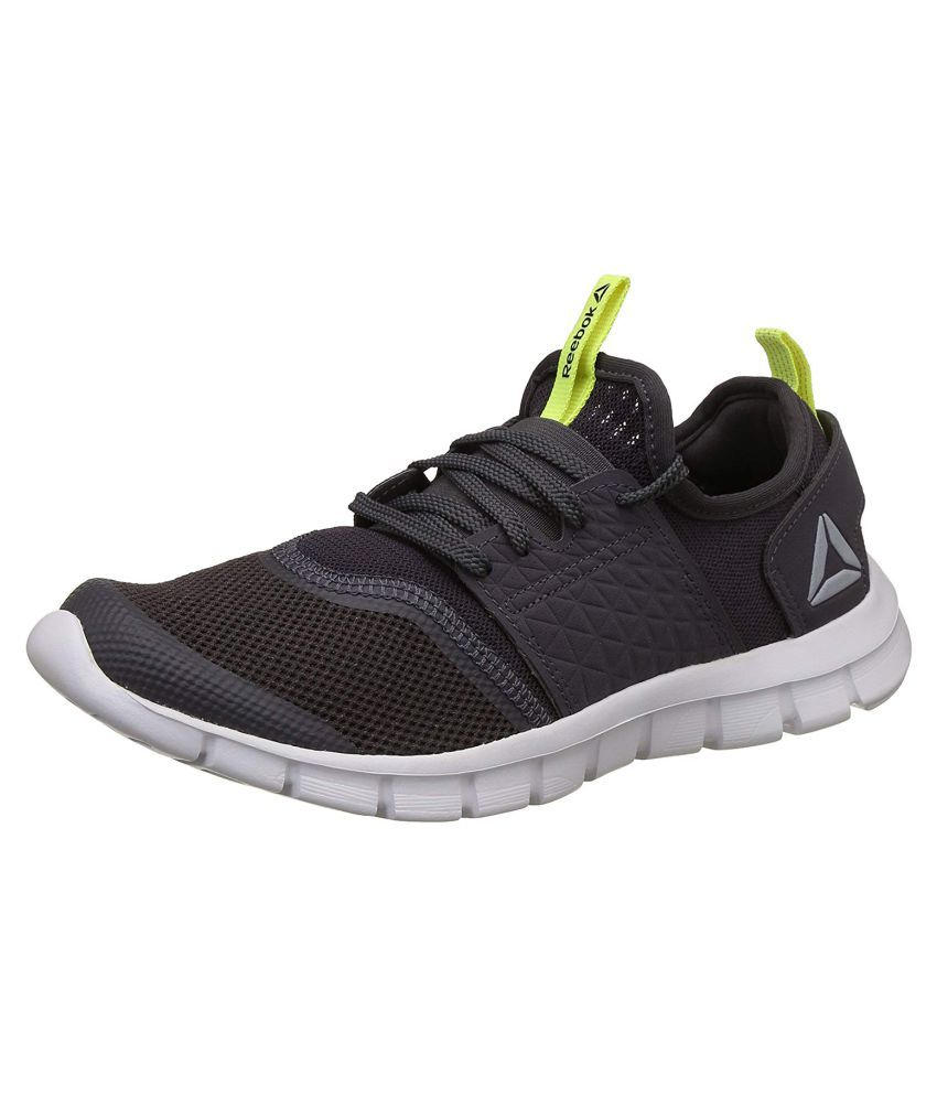 8e0a9e40b357 Reebok REEBOK HURTLE RUNNER Gray Running Shoes - Buy Reebok REEBOK HURTLE  RUNNER Gray Running Shoes Online at Best Prices in India on Snapdeal