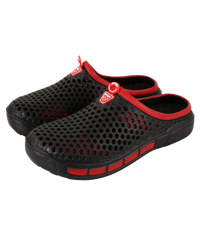 372ab2ac8cea98 Falcon18 Black Slide Flip flop Price in India- Buy Falcon18 Black Slide  Flip flop Online at Snapdeal