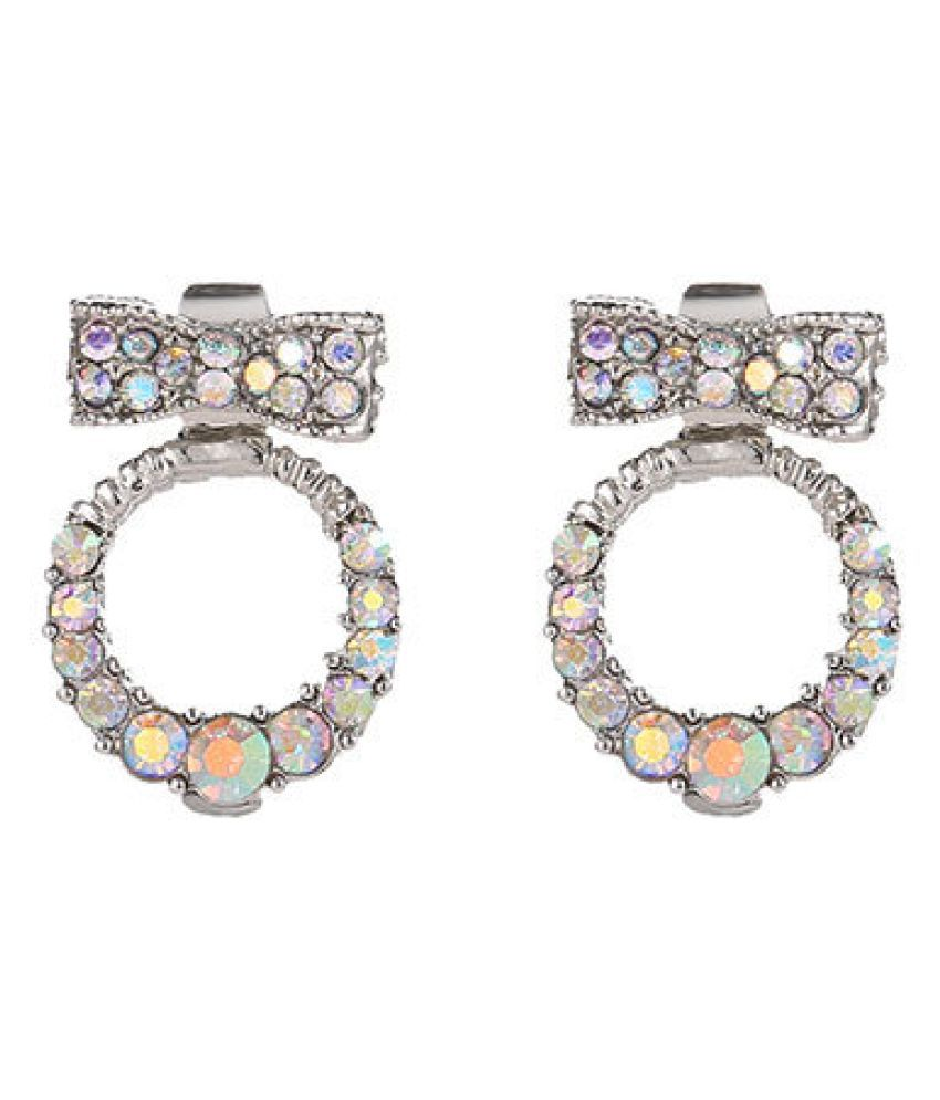 Levaso Fashion Jewelry Womens Earrings Ear Studs Alloy 1Pair Personality Gifts Multi Color
