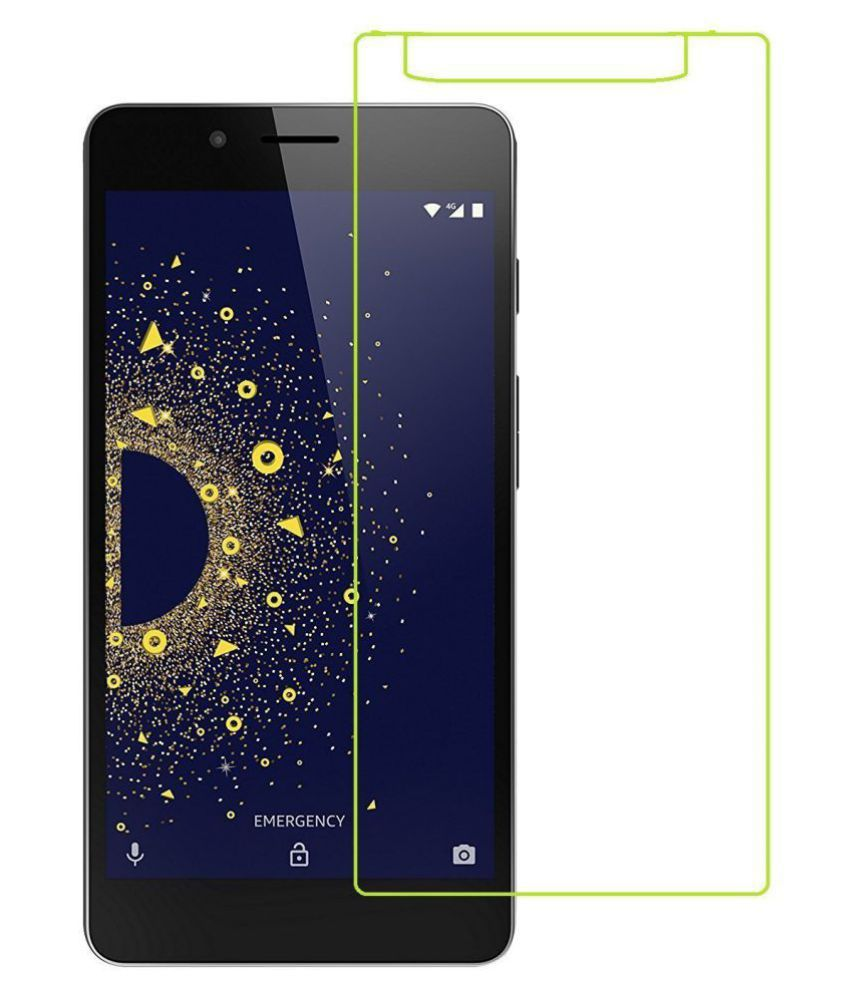 10 OR D Tempered Glass Screen Guard By Mascot Max