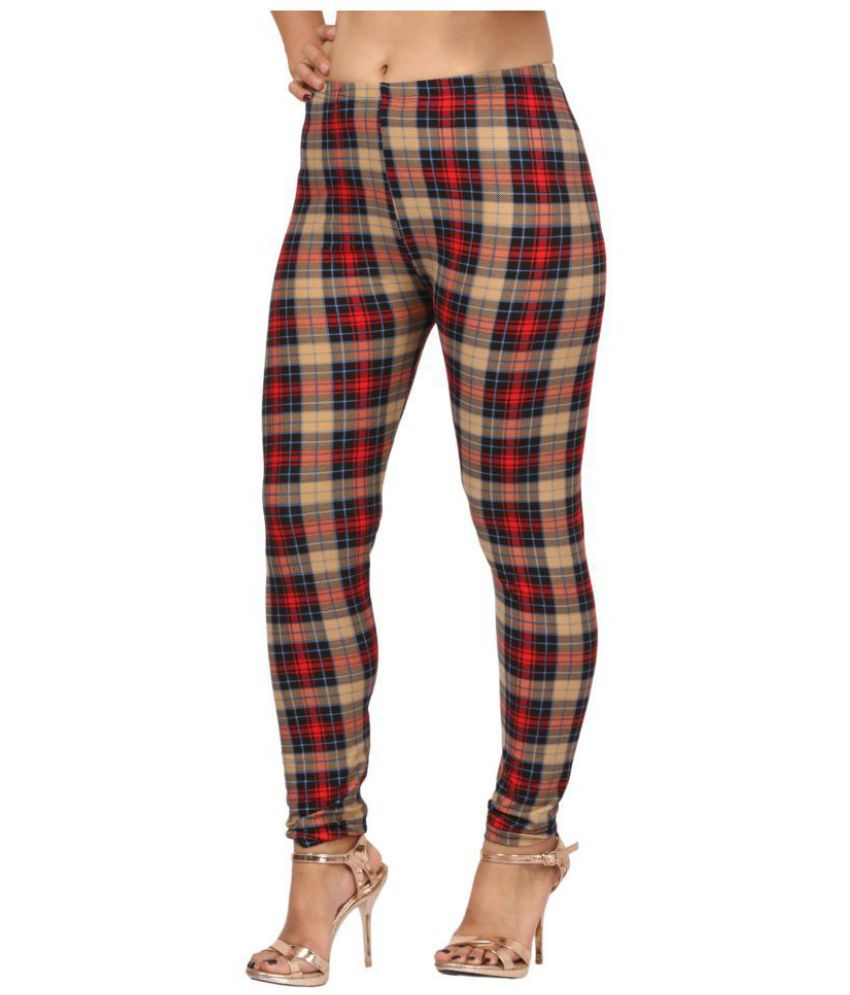 Fit 'N' You Cotton Jeggings - Brown