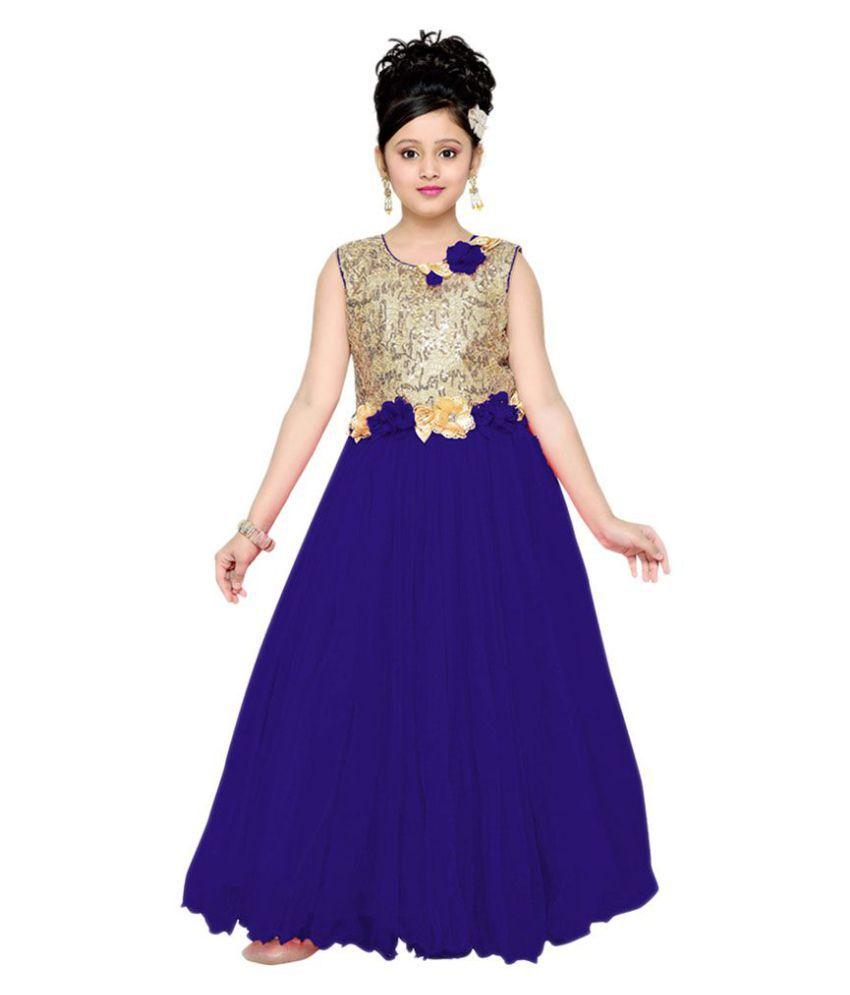 Aarika Blue Gown