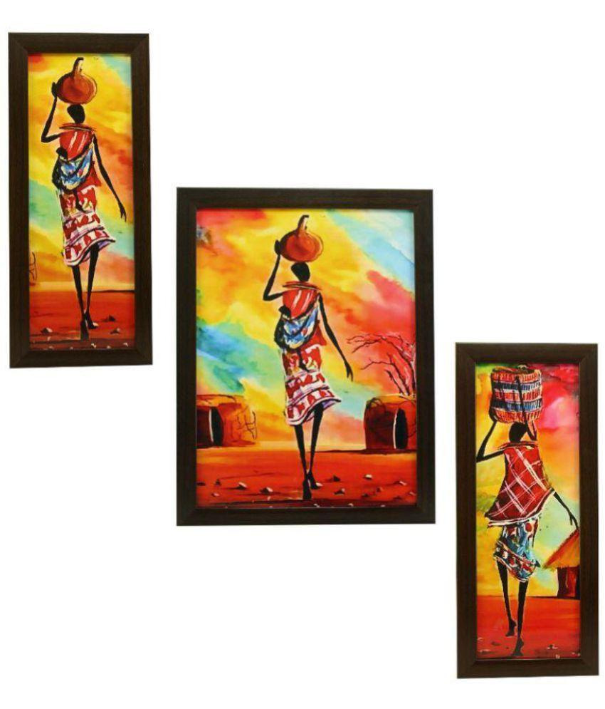 Indianara STILL LIFE MDF Painting With Frame
