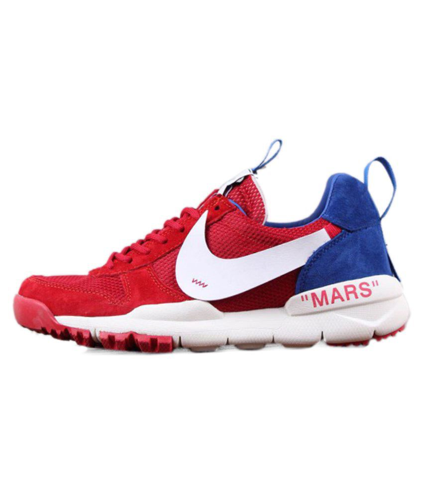 check out 68a11 57612 Nike Craft Mars Yard 2. 0 2018 Red Running Shoes - Buy Nike Craft Mars Yard  2. 0 2018 Red Running Shoes Online at Best Prices in India on Snapdeal