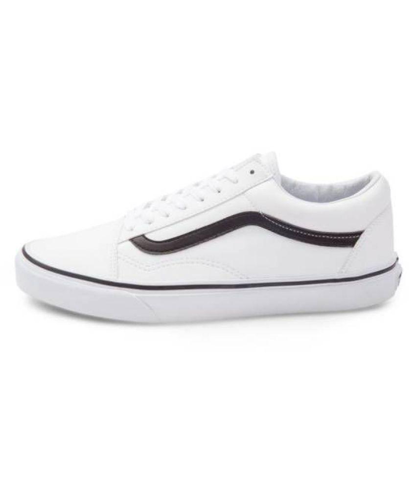 4ce9087d45 VANS old skool classic Sneakers White Casual Shoes - Buy VANS old ...