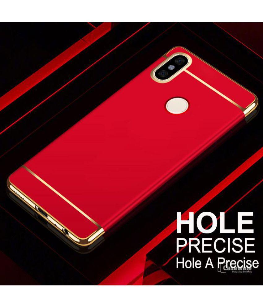 Xiaomi Redmi Note 5 Pro Plain Cases Worth It Red Plain Back