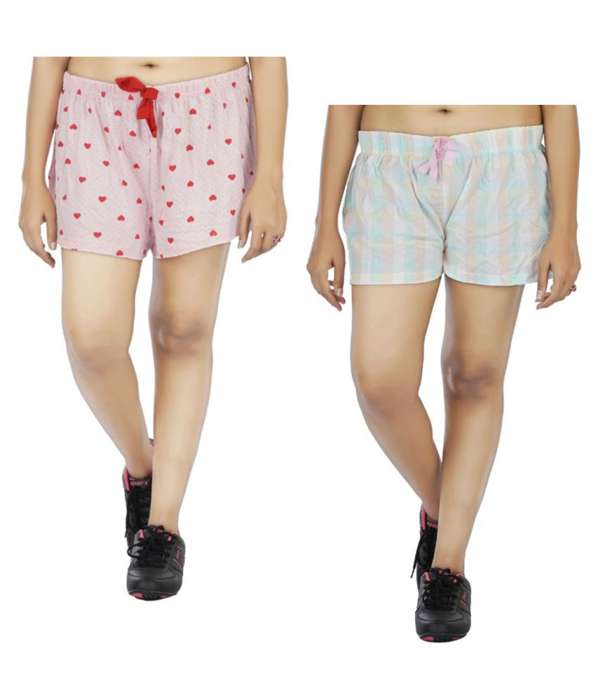 Indirang Cotton Boxers - Multi Color