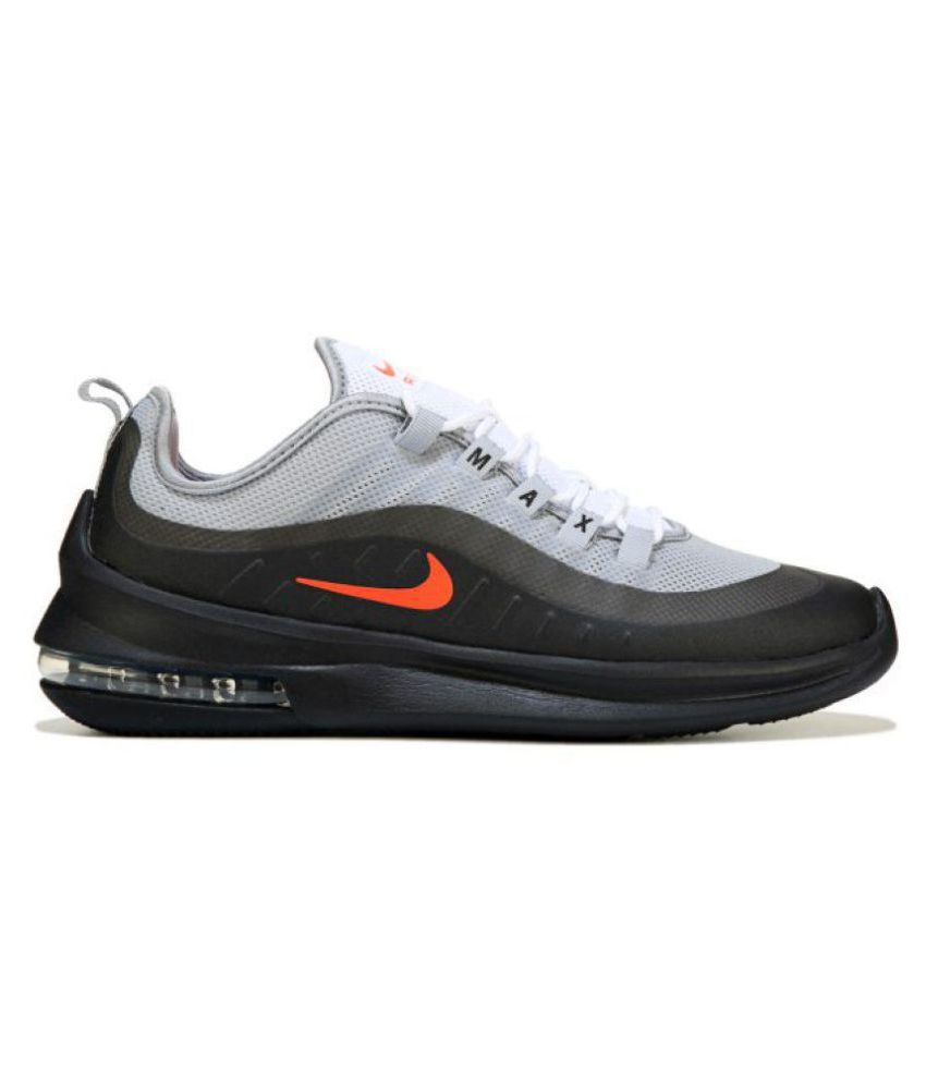 eb8089f07b Nike Air Max Axis Grey Running Shoes - Buy Nike Air Max Axis Grey Running  Shoes Online at Best Prices in India on Snapdeal