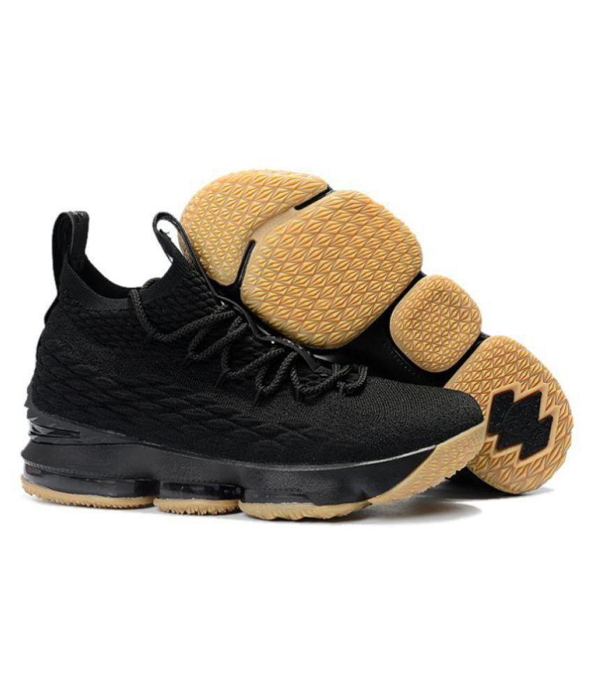 purchase cheap fd4ff 49638 Nike LEBRON 15 EP Black Basketball Shoes