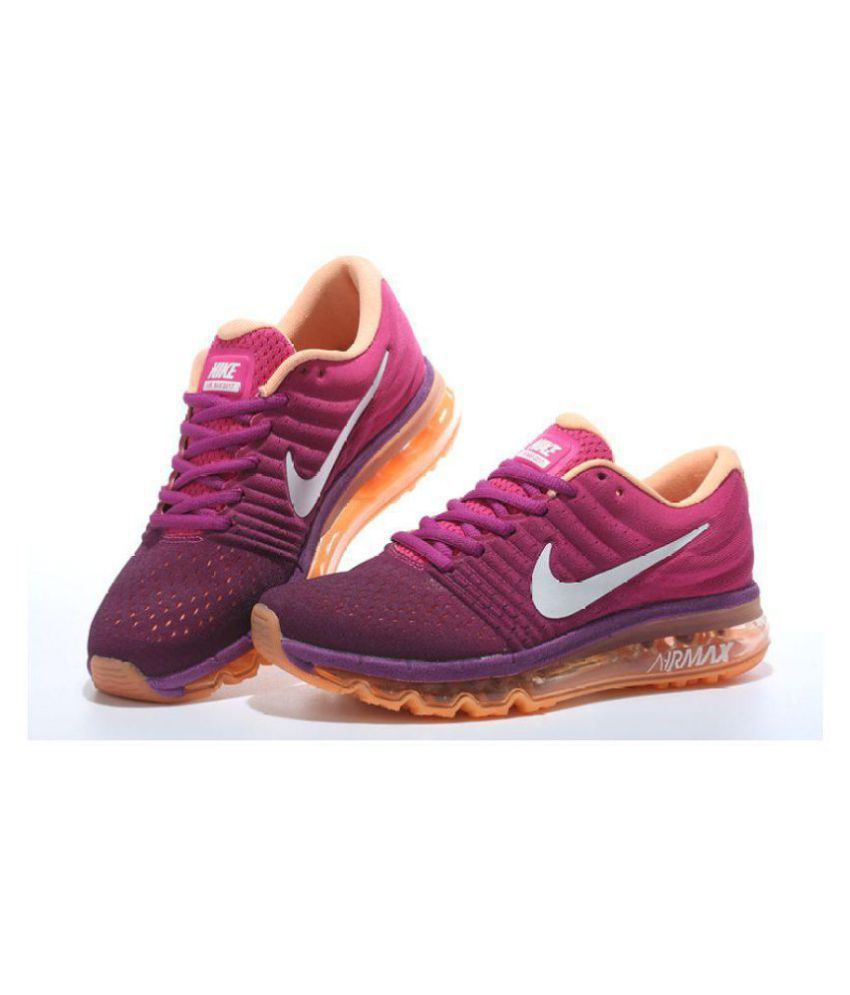 Nike Air Max 2017 Purple Womens Running Shoes Price in India- Buy Nike Air  Max 2017 Purple Womens Running Shoes Online at Snapdeal 8a8767231dc