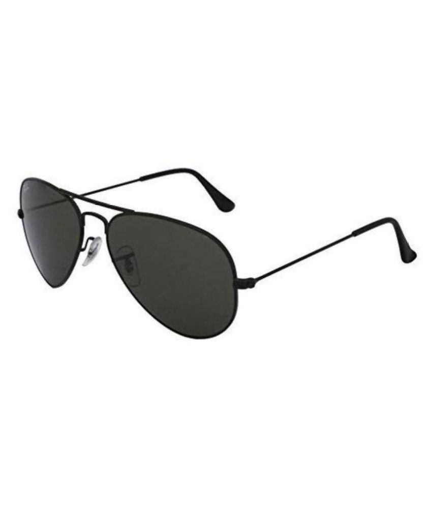 9d94f5e149a82 Ray Ban Avaitor Black Aviator Sunglasses ( 3026 ) - Buy Ray Ban ...