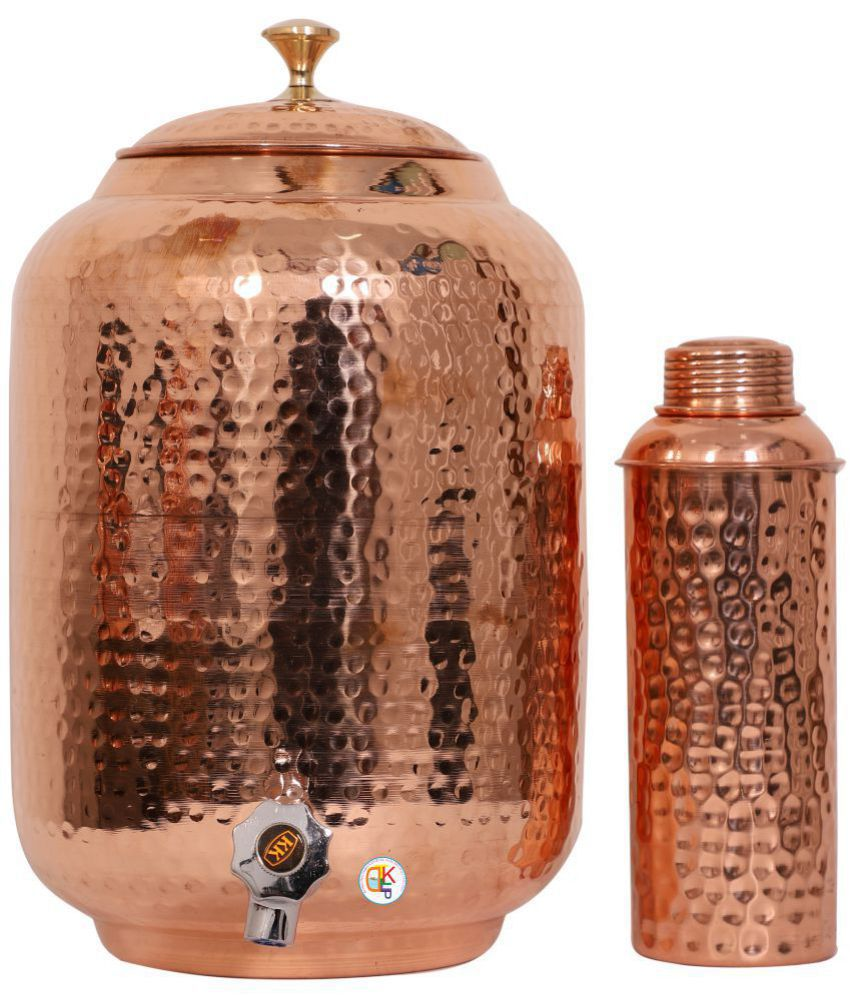 KDT Copper Water Container Set of 2