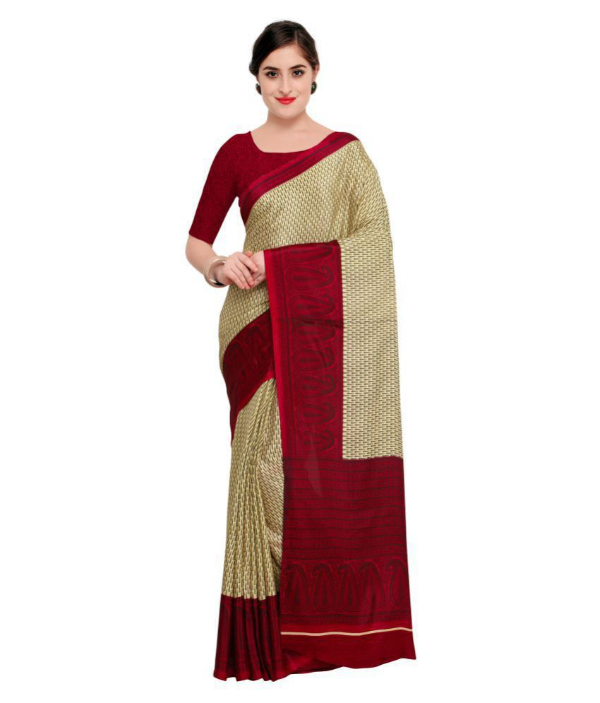 Pisara Multicoloured Crepe Silk Saree