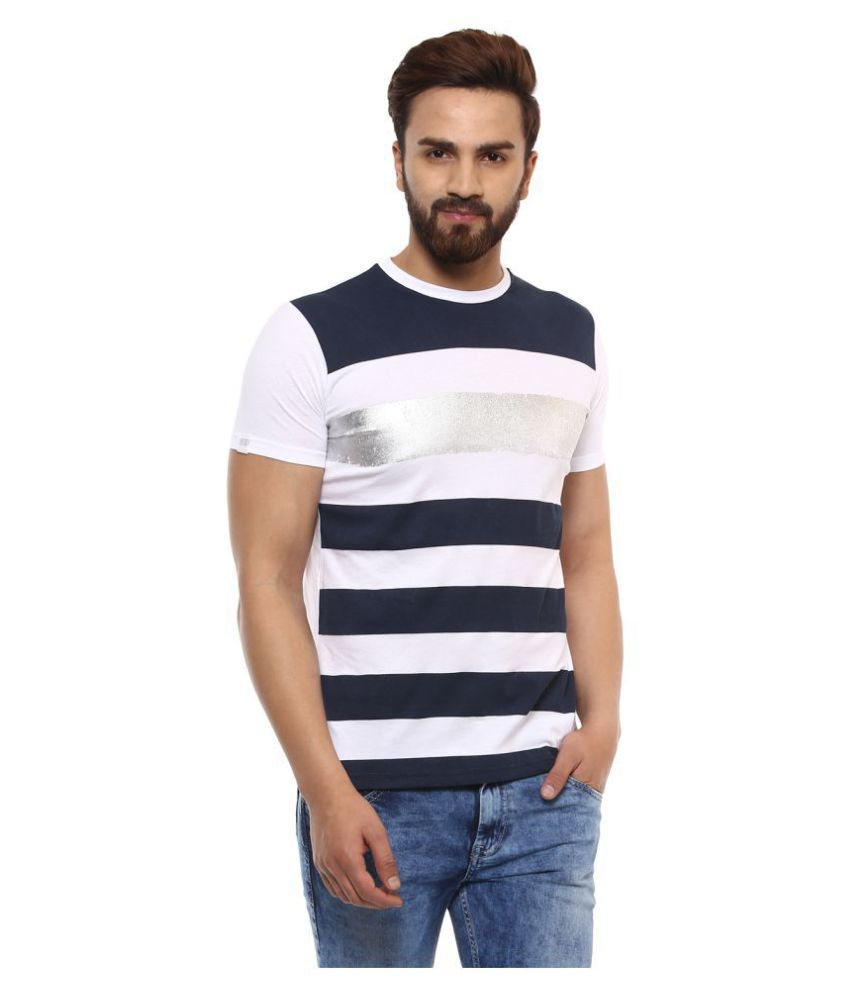 Mufti Navy Half Sleeve T-Shirt Pack of 1