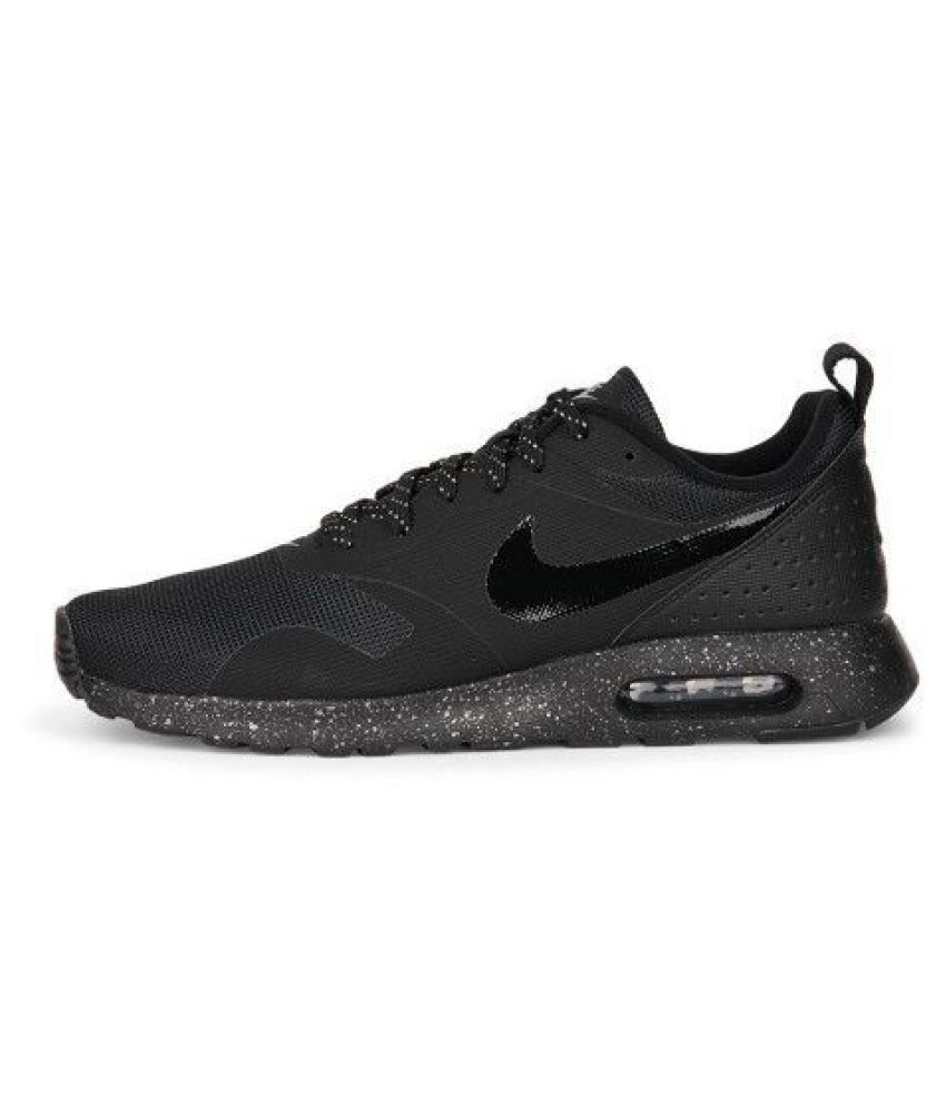 39bc4c9cfc2f6 Nike Airmax Tavas Black Training Shoes - Buy Nike Airmax Tavas Black  Training Shoes Online at Best Prices in India on Snapdeal