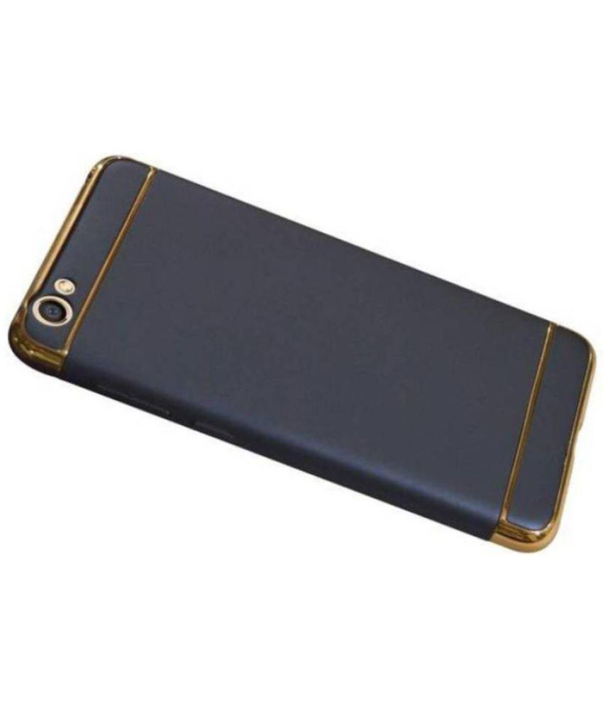 Vivo Y55 Plain Cases EMBOLO - Golden