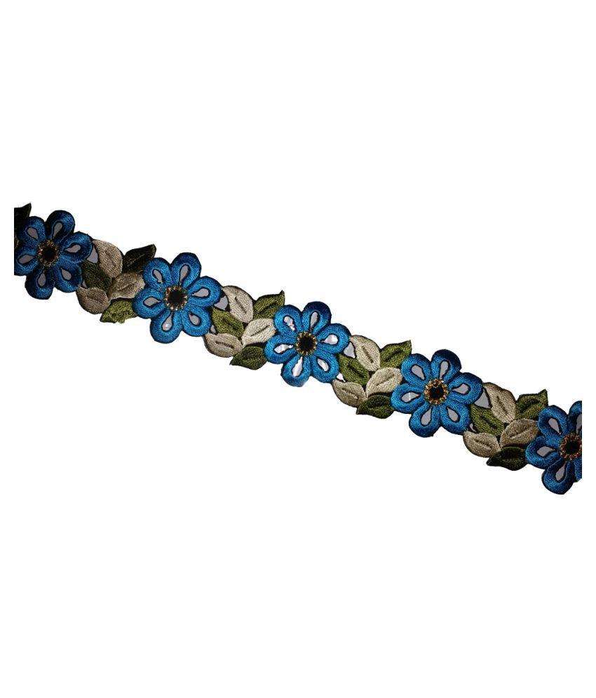 flower-lasses-gota-border-in-sharee-dupatta-beautifull-clothing-4 mtr