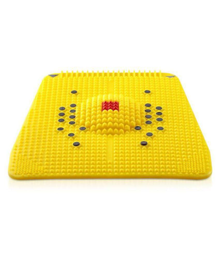 Bhavika Enterprises Acupressure Power Mat For Blood Circulation, Feet and Pain Relief - Assorted Color