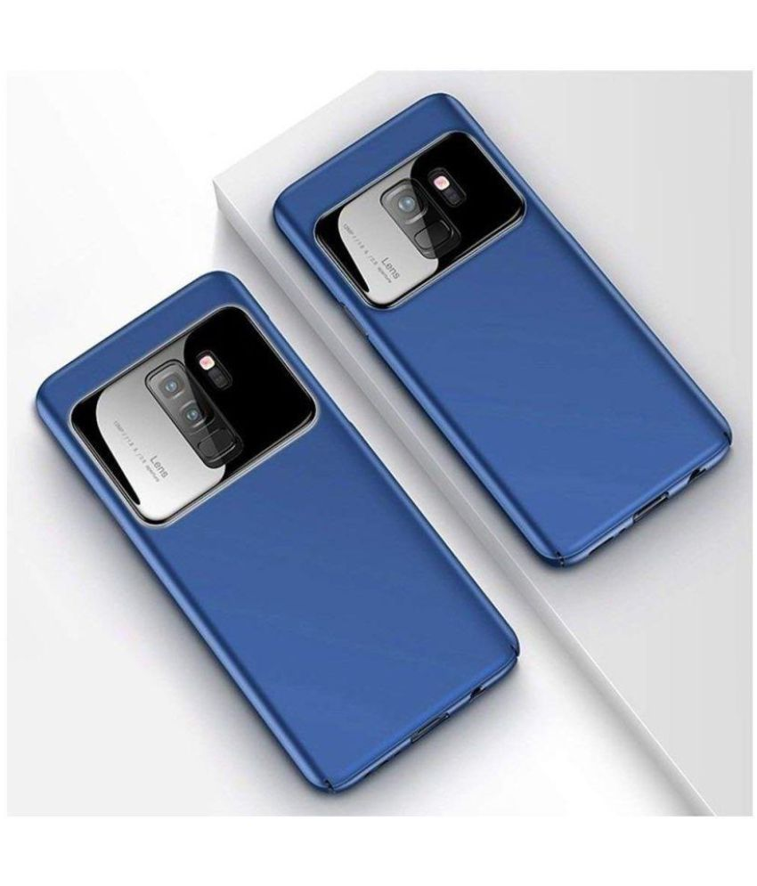 Oppo F7 Plain Cases Go Crazzy - Blue