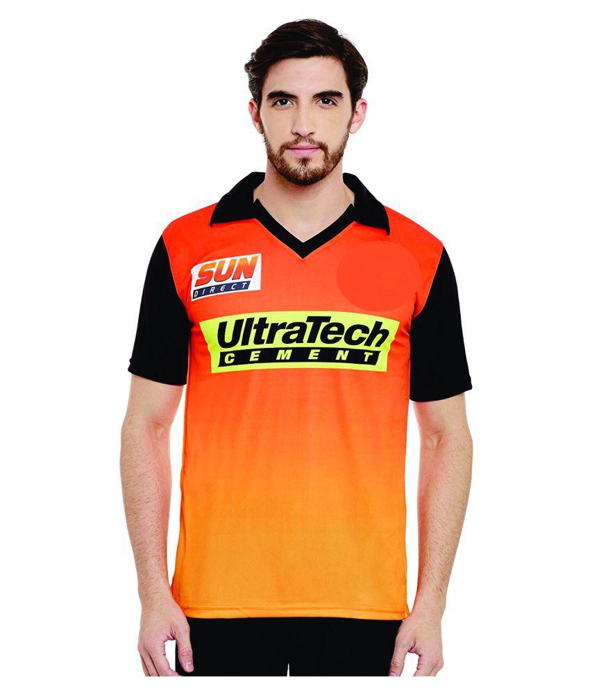 Sportigoo Unisex Sunrisers Hydrabad Cricket Jersey Cricket Kit