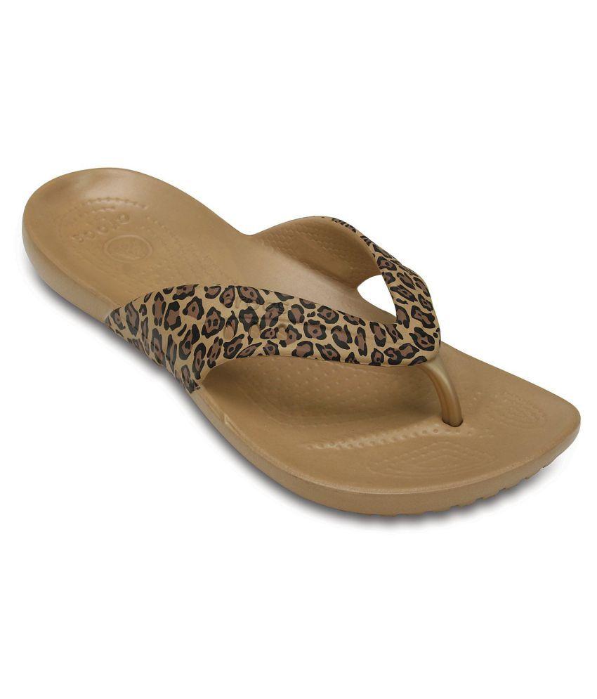 0c808ac74 Crocs Brown Slippers Price in India- Buy Crocs Brown Slippers Online at  Snapdeal