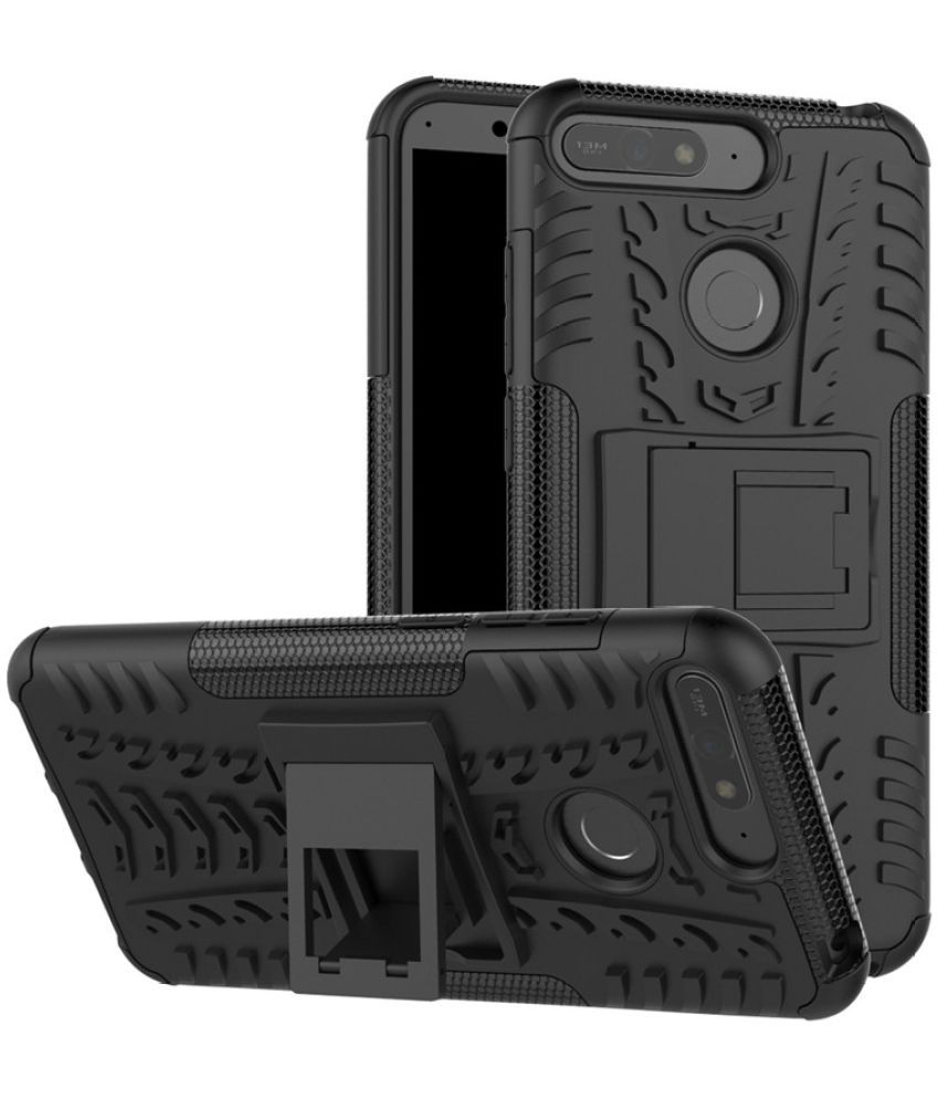 Huawei Honor 7C Cases with Stands Bracevor - Black