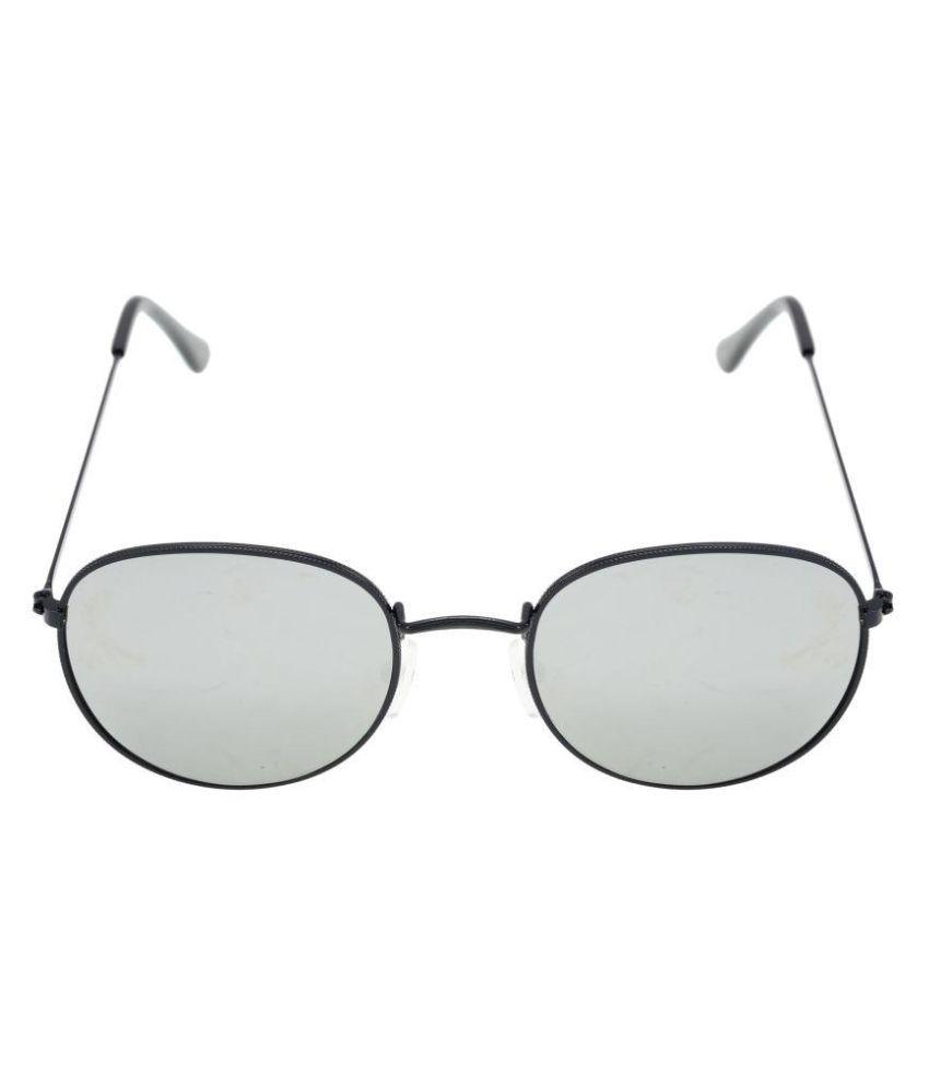 Love Fashion Silver Round Sunglasses ( SUN_002 )