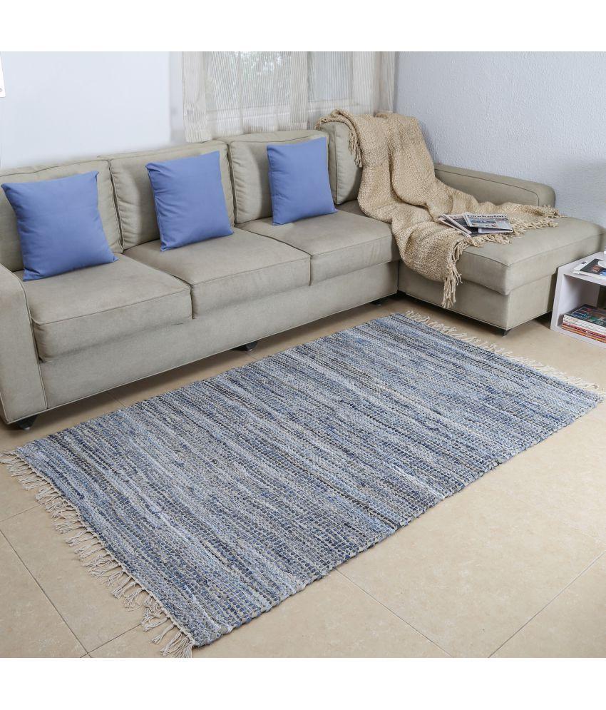 House This Blue Single Regular Floor Mat