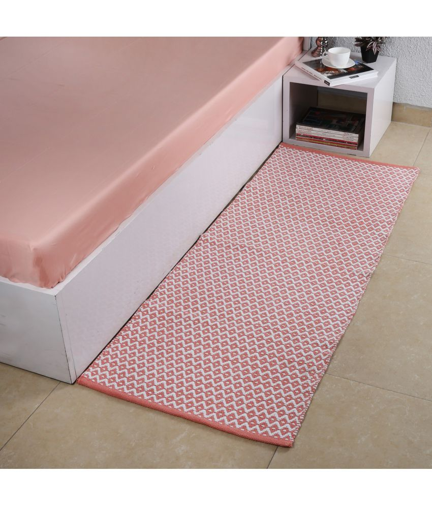 House This Pink Single Regular Floor Mat