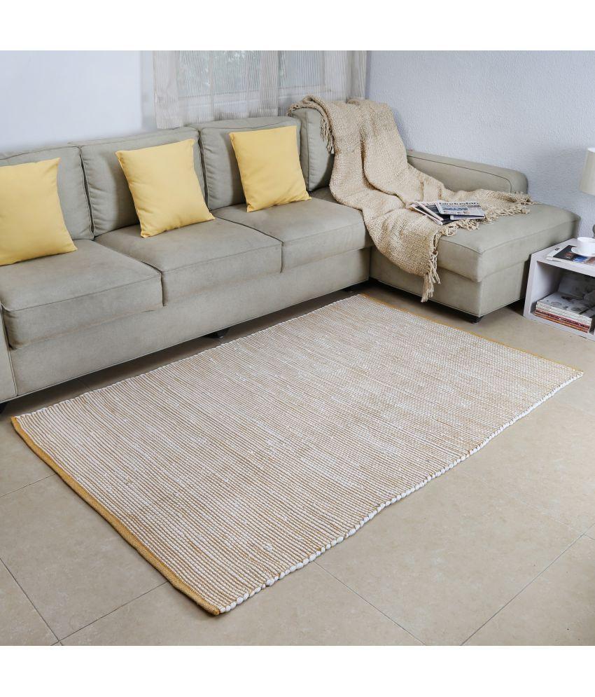 House This Yellow Single Regular Floor Mat