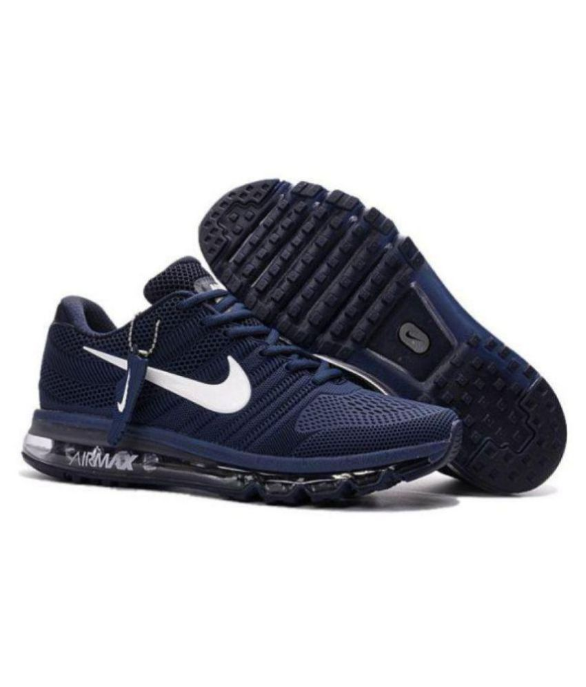 ba2e6c499a4 Nike AIRMAX 2018 LIMITED EDITION Blue Running Shoes - Buy Nike AIRMAX 2018  LIMITED EDITION Blue Running Shoes Online at Best Prices in India on  Snapdeal