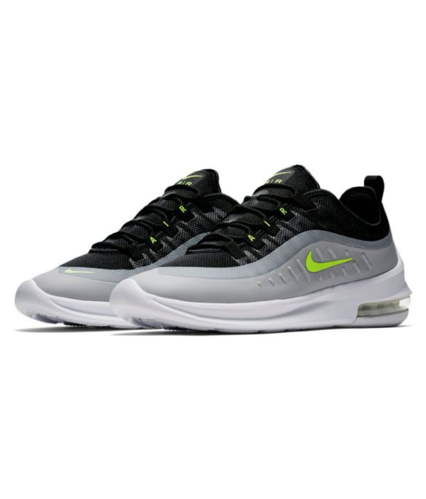 outlet store 806ec fbf64 Nike Air Max Axis Grey Running Shoes