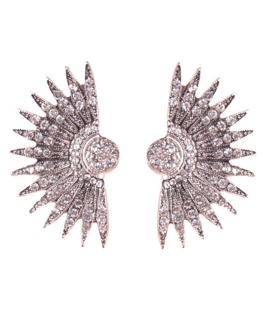 Levaso Fashion Earrings Ear Studs Alloy Jewelry Multi Color