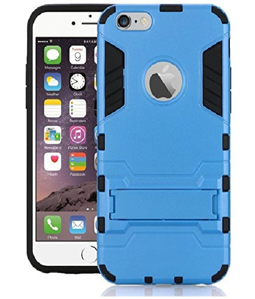 Apple iPhone 6S Cases with Stands CrackerDeal - Blue
