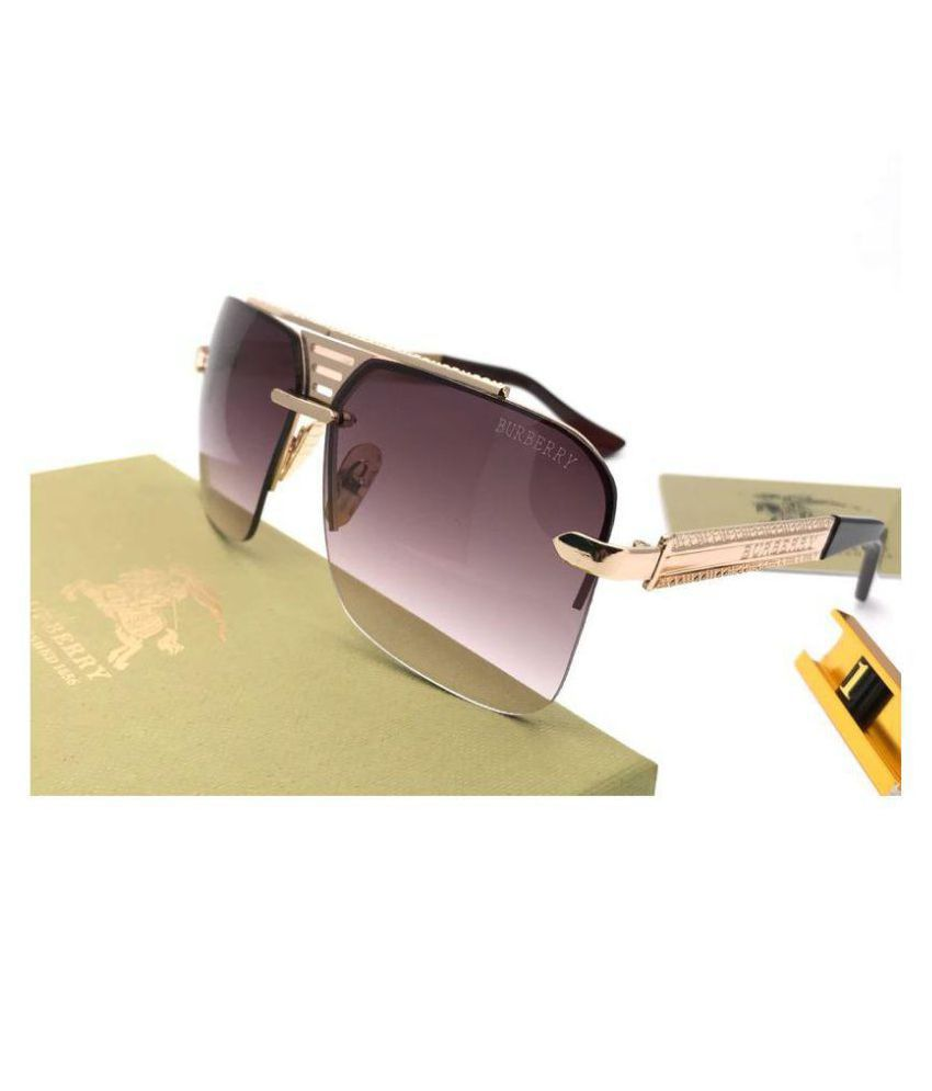 e69207984c9 Burberry Purple Square Sunglasses ( Bb20040 ) - Buy Burberry Purple Square  Sunglasses ( Bb20040 ) Online at Low Price - Snapdeal