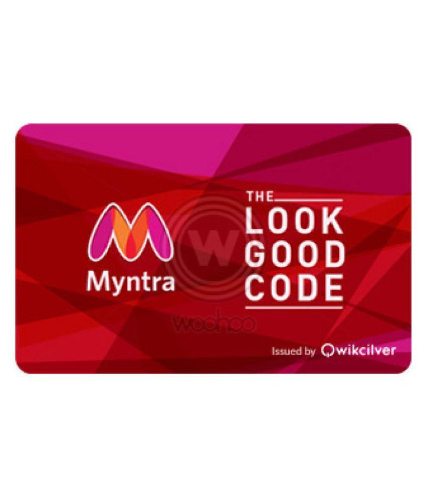 af23d9703c577 Myntra E-Gift Card - Buy Online on Snapdeal