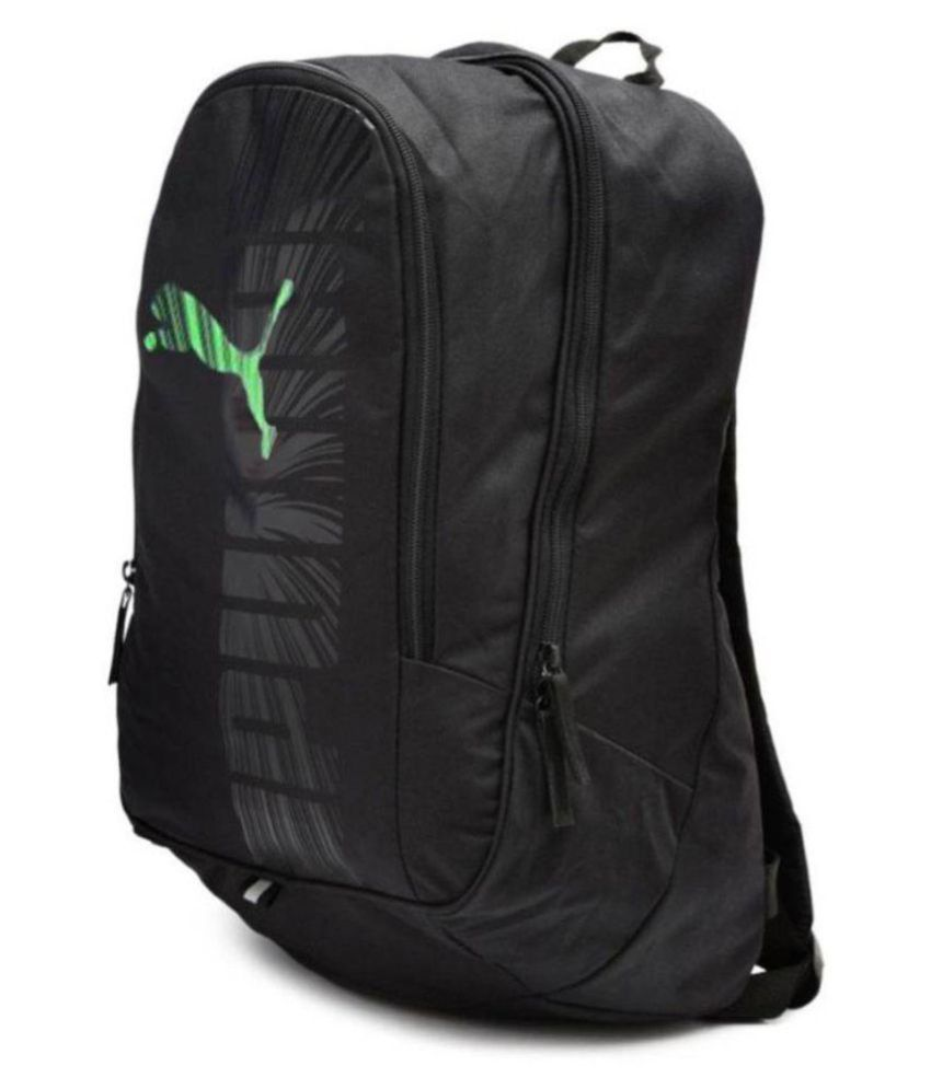 fdad12ad538e Puma Black Polyester College Bag - Buy Puma Black Polyester College Bag  Online at Best Prices in India on Snapdeal